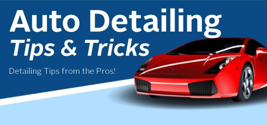 Auto Detailing Tricks Infographic