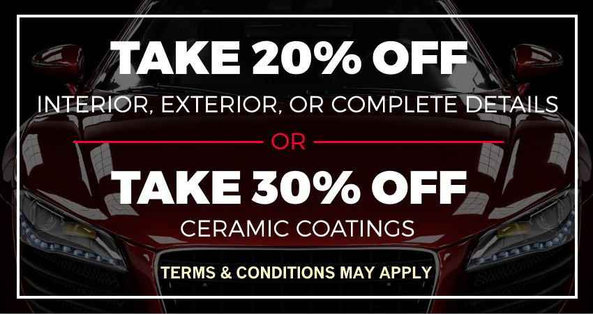 2020 Auto Detailing Coupon